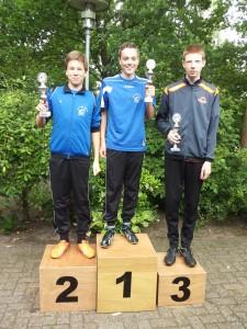 1. Ramon Stevelink (kampioen) 2. Bauke Johannink 3. Luke Rolink